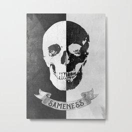 Skull sameness Metal Print