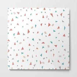 Pattern triangles  Metal Print