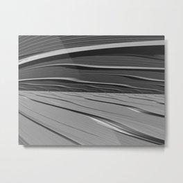 dual realities: white Wasteland Metal Print