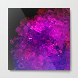 Solidified Metal Print