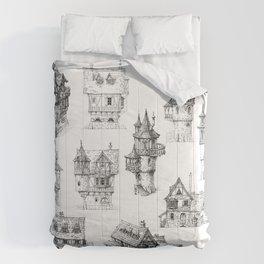 Fantasy Houses Comforters