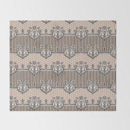 Dakota Black Lace Throw Blanket