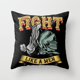 16 Warriors_13 Throw Pillow