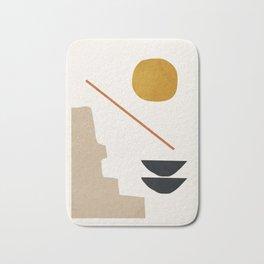 abstract minimal 6 Badematte