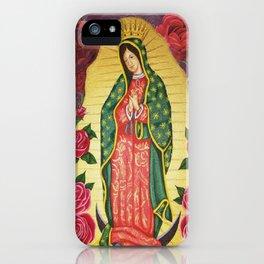 Virgen de Guadalupe III iPhone Case