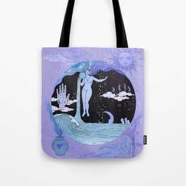 THE WATER MAGICIAN Tote Bag