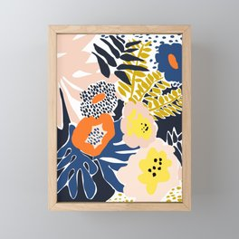 More design for a happy life - high Framed Mini Art Print