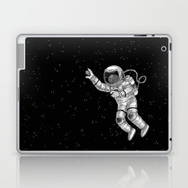 Astronaut in the outer space Laptop & iPad Skin