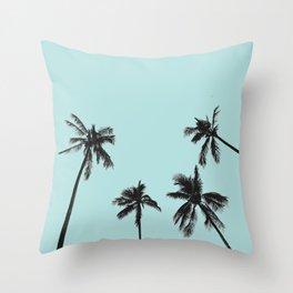 Palm trees 5 Throw Pillow
