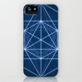 Sacred geometry / Minimal Hipster Symbol Art iPhone Case