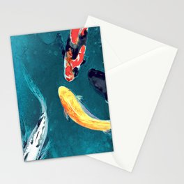 Water Ballet Stationery Cards
