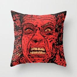 Total Schwarzenegger Throw Pillow