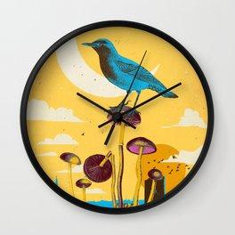 CITY BIRD Wall Clock