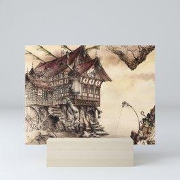 Steampunk Landscape Mini Art Print