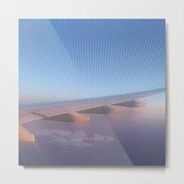 Flying High at Sunset Metal Print