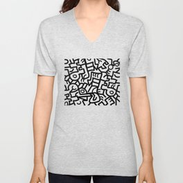 Dazed and Confused in the Morning Unisex V-Neck