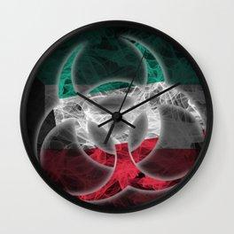 Biohazard Kuwait, Biohazard from Kuwait, Kuwait Quarantine Wall Clock