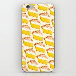 Lemon Meringue Pie Pattern iPhone Skin