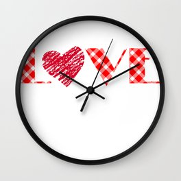 Valentinstag, love Valentine liebe Wall Clock