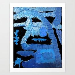 My Sapphire blue Art Print