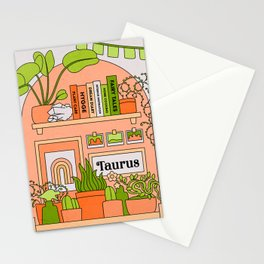 Taurus Desert Rainbow Stationery Cards