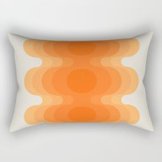 Echoes - Creamsicle Rectangular Pillow