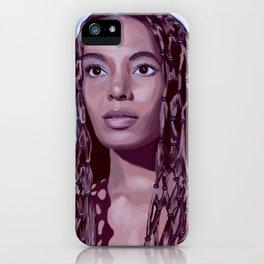 Solange iPhone Case
