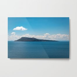 Moon island in Lake Titicaca Metal Print