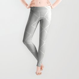Tilting Diamonds in Grey Leggings