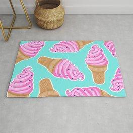 Bubblegum Ice Cream Print Rug