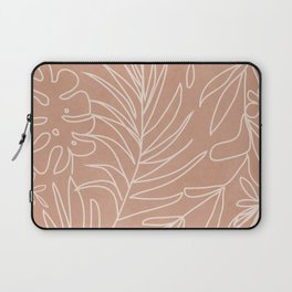 Engraved Tropical Line Laptop Sleeve