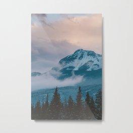 Icefields Parkway, AB Metal Print
