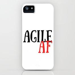 Scrum Agile AF Funny Scrum iPhone Case