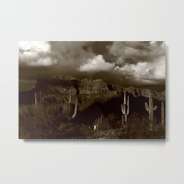 The Old West Metal Print