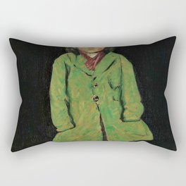 George Benjamin Luks - Digital Remastered Edition Rectangular Pillow
