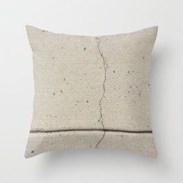Real, Concrete, not Abstract Throw Pillow