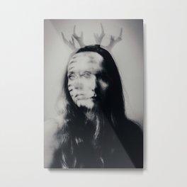 Horned god Metal Print