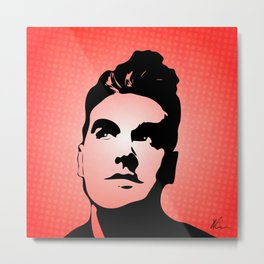 The Smiths - This Charming Man - Pop Art Metal Print