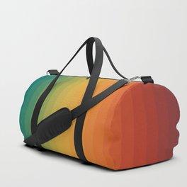vertical rainbow Duffle Bag