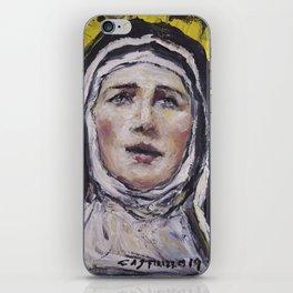 Saint Gertrudis La Magna iPhone Skin