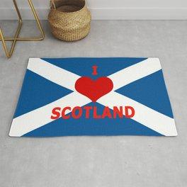 Scotland Flag Saltire Rug