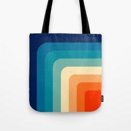 80s Vintage pattern Tote Bag