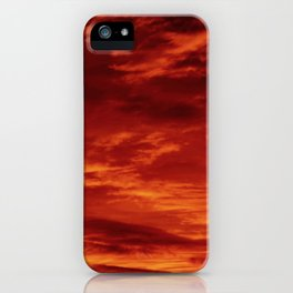 Inferno Skies iPhone Case