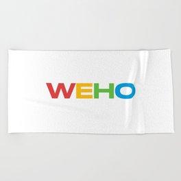 WEHO Beach Towel