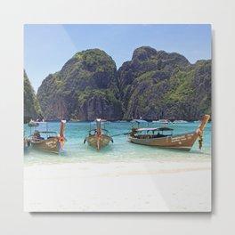 Maya Bay, Phi Phi Island, Thailand Metal Print