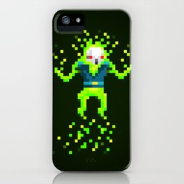 Green Skull iPhone Case