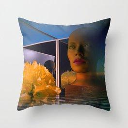 surrealistic showcase Throw Pillow