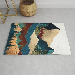 Malachite Mountains Rug