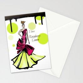 Ice Cream Raspberry Lemon Stationery Cards