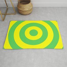 Target (Green & Yellow Pattern) Rug